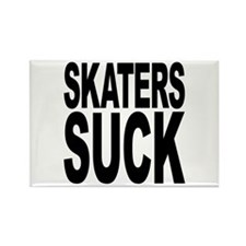 Skaters Suck Rectangle Magnet