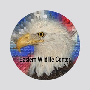 "EWC ""W"" Eagle Ornament (Round)"