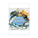 Carolina Outdoors Game Animal Mini Poster Print