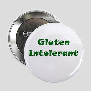 "Gluten Intolerant 2.25"" Button"