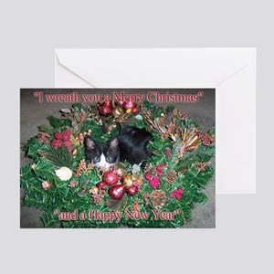 Tuxedo Kitten Christmas Cards (Pk of 20)