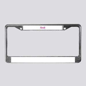 8 Bit Adventurer License Plate Frame