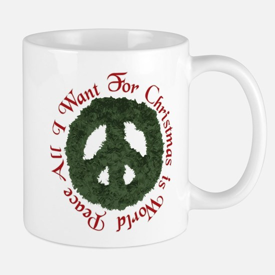 Christmas World Peace Mug
