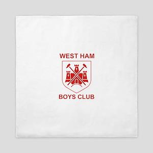 West Ham Boys Club Queen Duvet