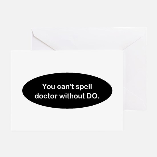 Osteopathic Greeting Cards (Pk of 20)
