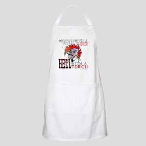 Devil with a Hammer BBQ Apron