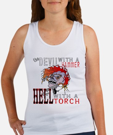Devil with a Hammer Women's Tank Top