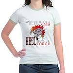 Devil with a Hammer Jr. Ringer T-Shirt