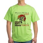 Devil with a Hammer Green T-Shirt