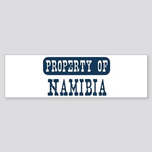 Property of Namibia Bumper Sticker