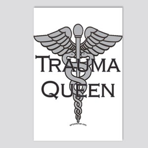 Trauma Queen, ER Nurse Postcards (Package of 8)