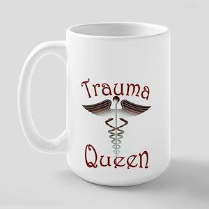 Trauma Queen, ER Nurse Large Mug