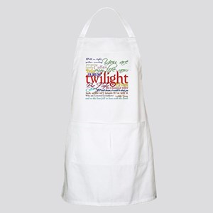 Twilight Quotes BBQ Apron