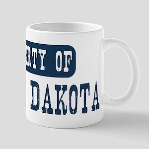 Property of North Dakota Mug