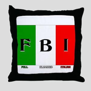 Full Blooded Italian Throw Pillow