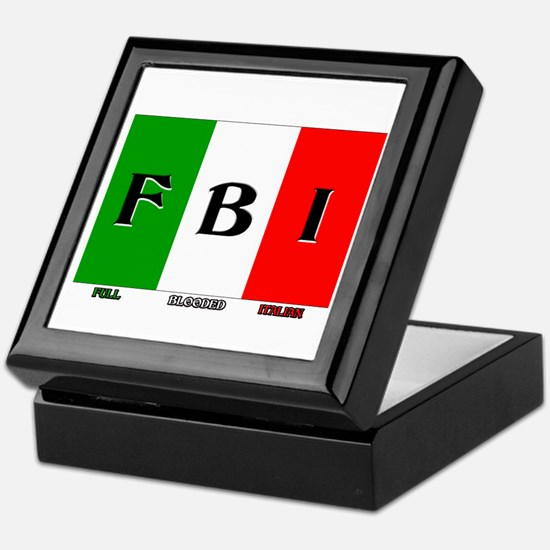 Full Blooded Italian Keepsake Box