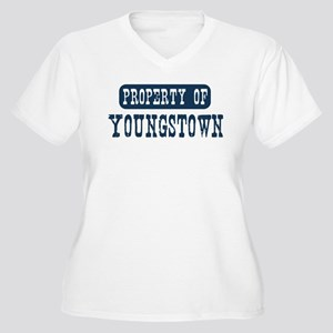Property of Youngstown Women's Plus Size V-Neck T-