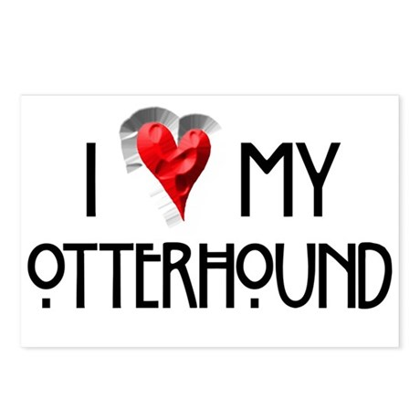 Otterhound Postcards (Package of 8)