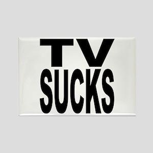 TV Sucks Rectangle Magnet