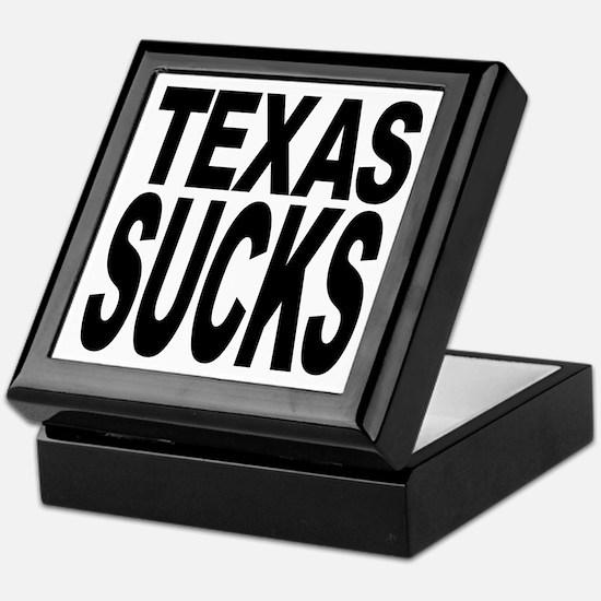Texas Sucks Keepsake Box