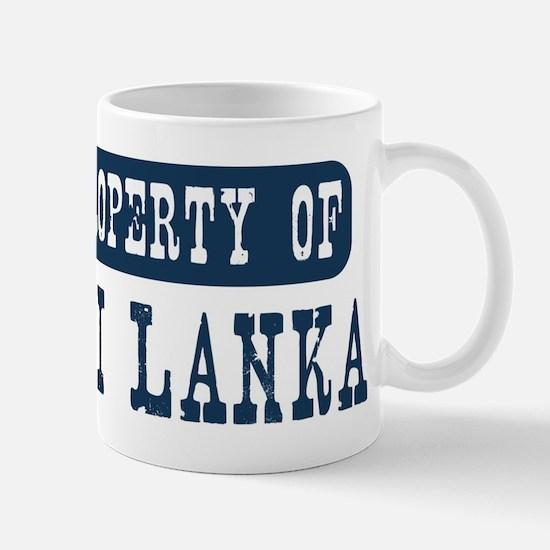 Property of Sri Lanka Mug