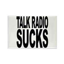 Talk Radio Sucks Rectangle Magnet