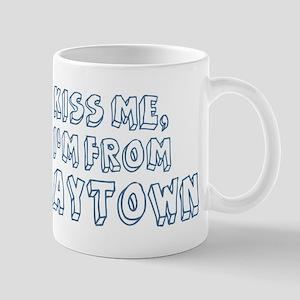 Kiss me: Baytown Mug