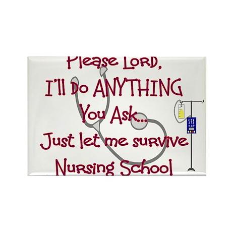 Student Nurse Rectangle Magnet