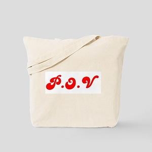 P.O.V Tote Bag