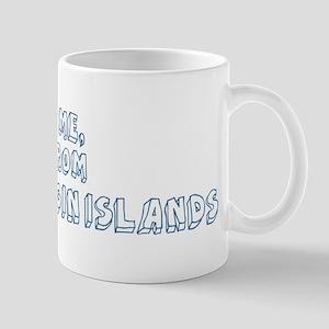 Kiss me: British Virgin Islan Mug