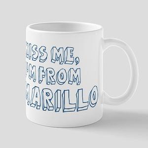 Kiss me: Amarillo Mug