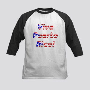 Viva Puerto Rico Kids Baseball Jersey