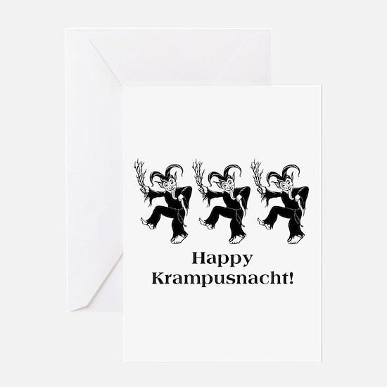 Happy Krampusnacht! Greeting Card
