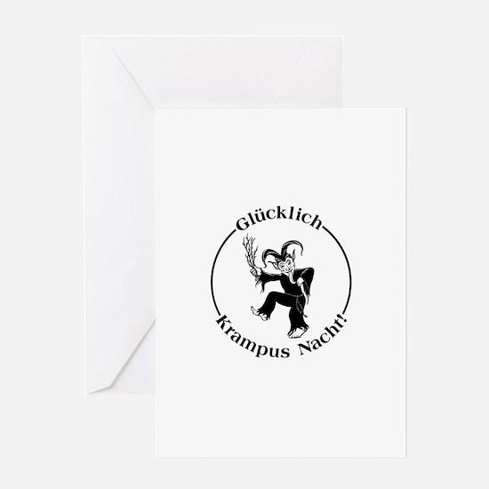 Glucklich Krampus Nacht! Greeting Card