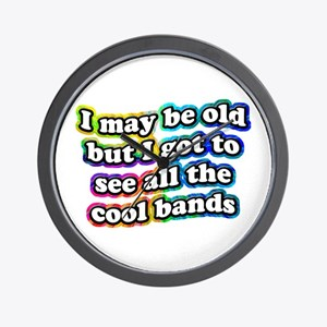 All The Cool Bands Wall Clock