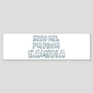 Kiss me: Namibia Bumper Sticker