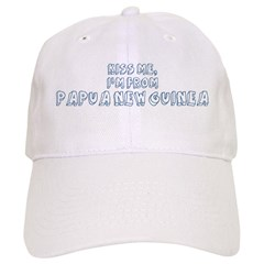 Kiss me: Papua New Guinea Baseball Cap