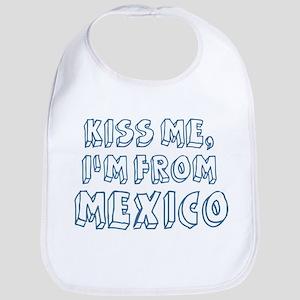 Kiss me: Mexico Bib