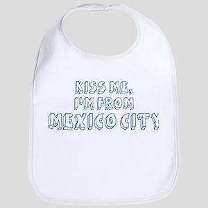 Kiss me: Mexico City Bib