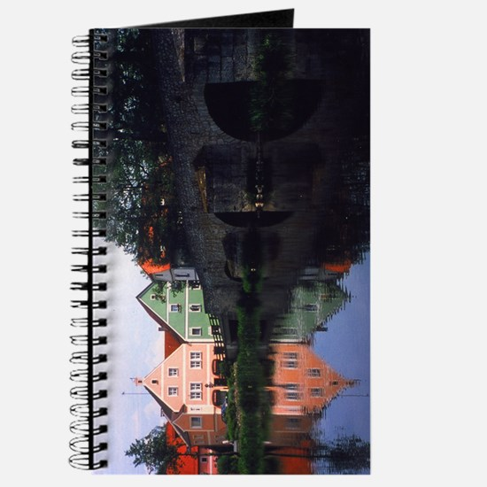 Medieval Bridge and Reflection - Journal