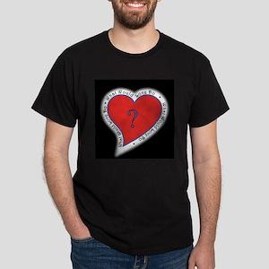 Graphic on dark appera; Dark T-Shirt