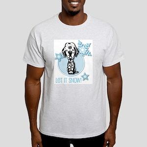 Let it Snow Dalmatian Light T-Shirt