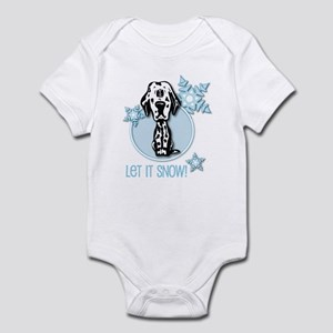 Let it Snow Dalmatian Infant Bodysuit