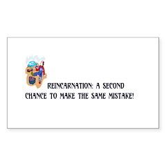 Reincarnation Rectangle Decal