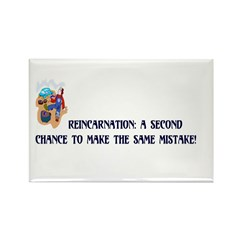 Reincarnation Rectangle Magnet