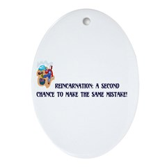 Reincarnation Oval Ornament