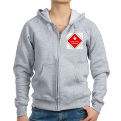 Combustible Scientist Zip Hoodie
