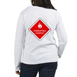 Combustible Scientist Women's Long Sleeve T-Shirt