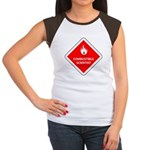 Combustible Scientist Women's Cap Sleeve T-Shirt