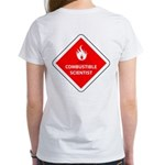 Combustible Scientist Women's T-Shirt